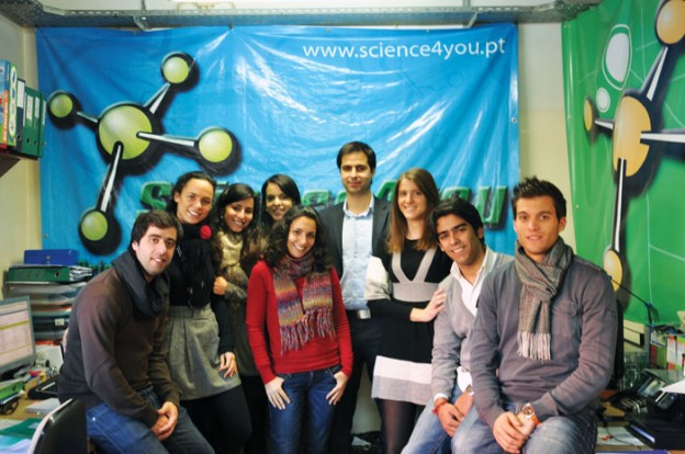 A família Science4You | ©Samuel Alves