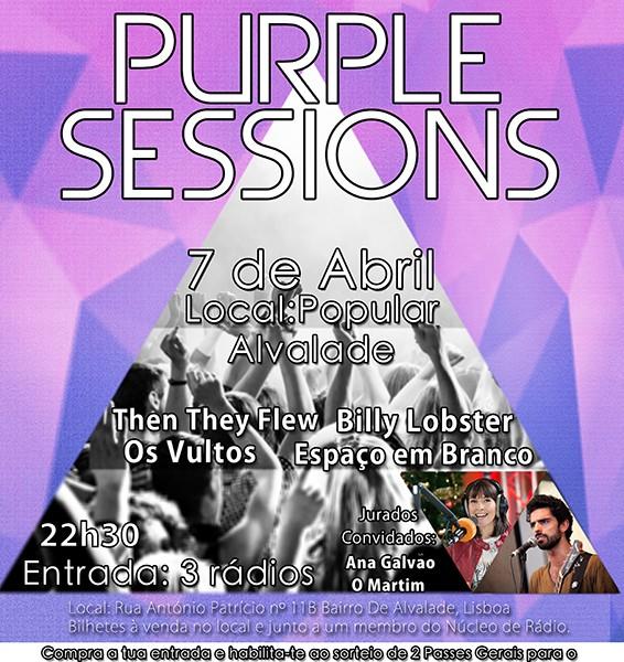 Não percas as Purple Sessions!