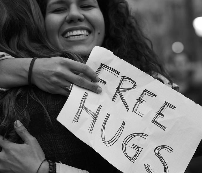A importância de um abraço