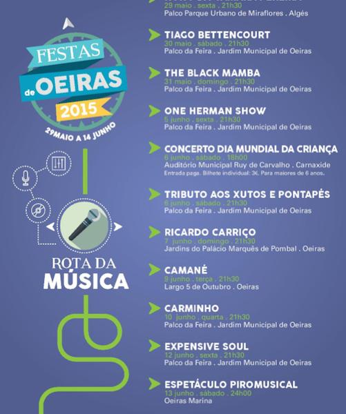 A Rota da Música em Oeiras