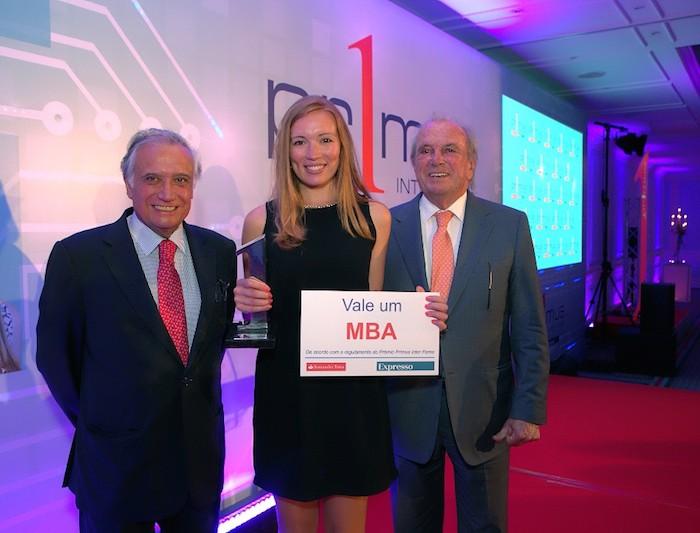 Carolina Monteiro vence Prémio Primus Inter Pares
