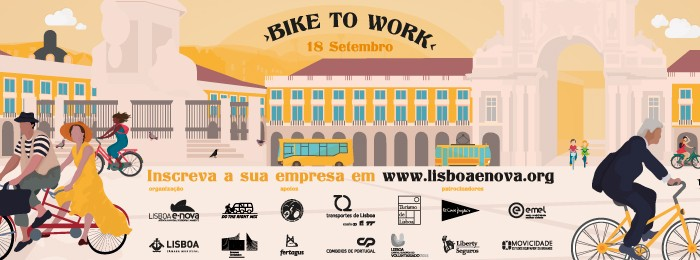 De bicicleta para o trabalho