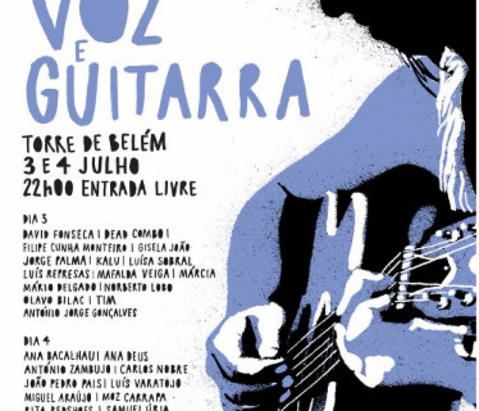 Terreiro do Paço recebe 'Voz e Guitarra'
