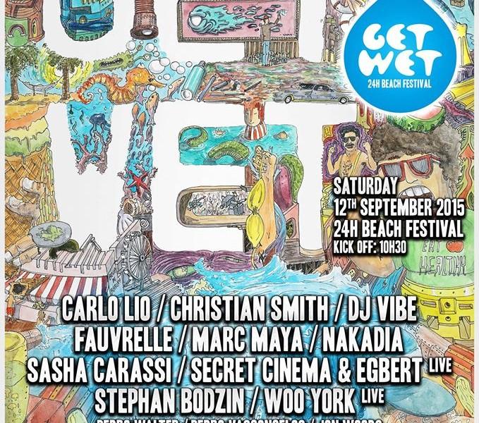 """""""Get Wet"""", festival de música eletrónica"""