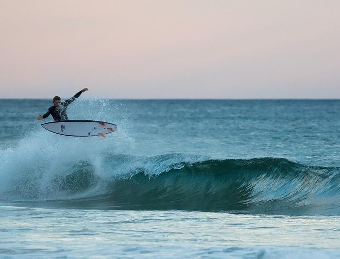 Um fim-de-semana dedicado ao surf