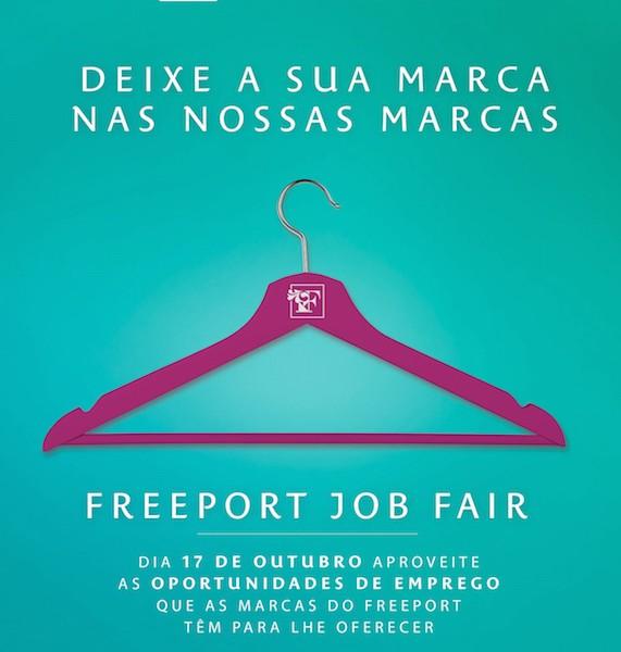 A tua oportunidade na Freeport Job Fair