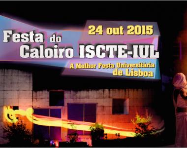 Está a chegar a Festa do Caloiro do ISCTE-IUL!