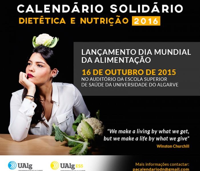 Calendário Solidário para ajudar a Refood
