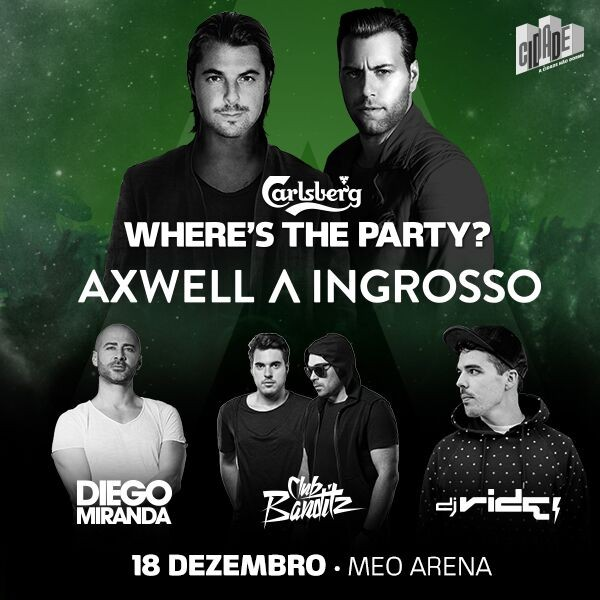 Carlsberg Where's The Party X: bilhete duplo aqui!