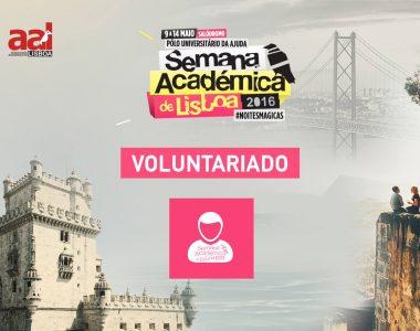 Queres fazer voluntariado na Semana Académica de Lisboa?