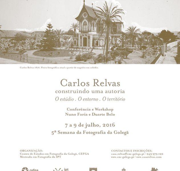 Um workshop de fotografia inspirado em Carlos Relvas