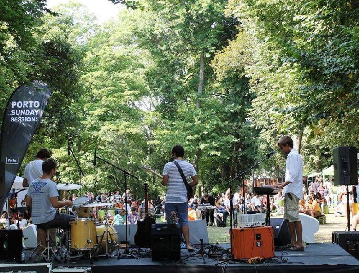 Jardins do Porto oferecem música aos domingos