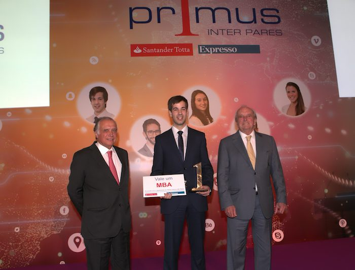 André Dias do ISCTE é o vencedor do Primus Inter Pares