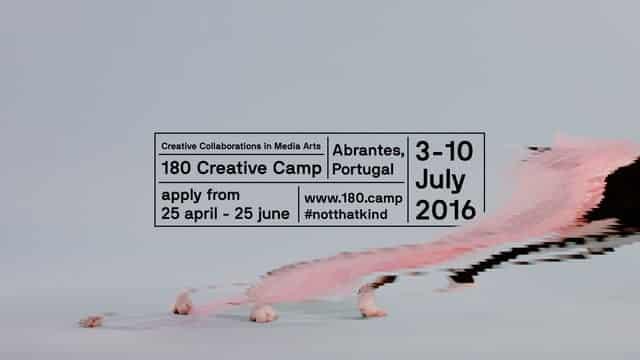 Uma semana de arte no 180 Creative Camp Abrantes