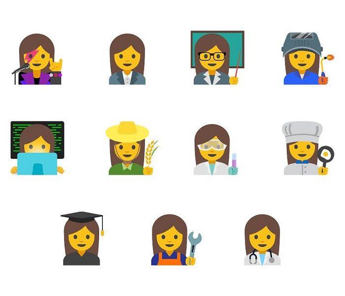 """Igualdade de género também nos """"emojis""""!"""