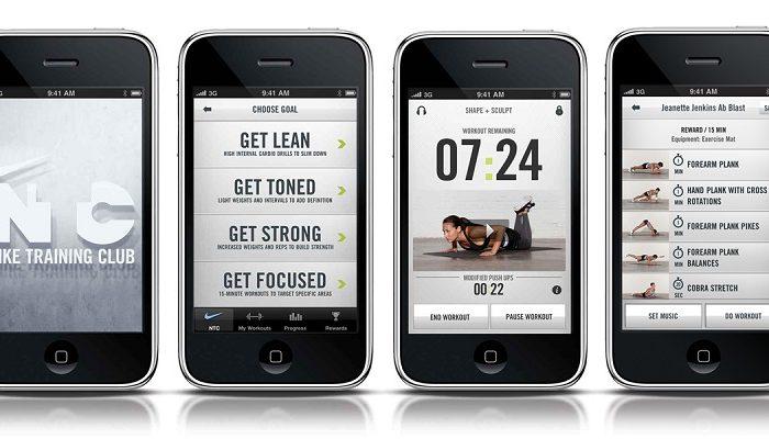 Nike lança aplicação de fitness