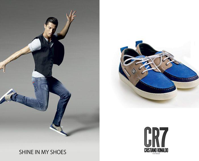 Ganha 1 par de sapatos CR7 Footwear!