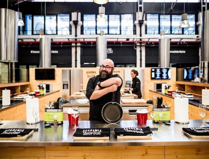 Há novos workshops na Escola de Cozinha do Mercado