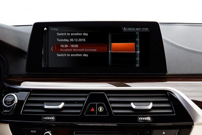Skype For Business na série 5 da BMW