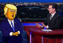 Donald Trump protagonista em desenhos animados