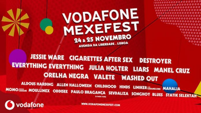 Vodafone Mexefest já fechou o cartaz